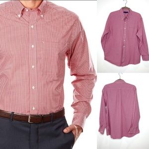 Tommy Hilfiger - red white Gingham check Shirt